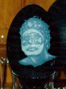 Aboriginal man, 3 by Ngarnamurrah