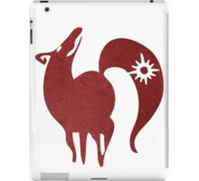 Greed, The Fox iPad Case/Skin