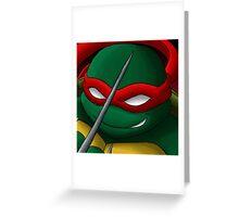 Raphael Icon Greeting Card