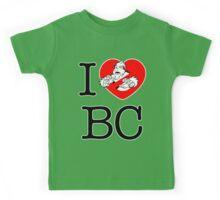 I PNW:GB BC (white) v2 Kids Tee