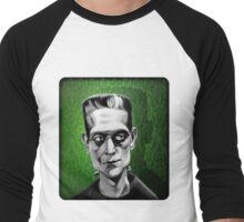 Frankenstein's Monster Men's Baseball ¾ T-Shirt