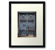 Blue Door - Lille Framed Print