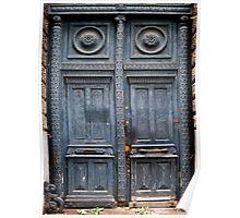 Blue Door - Lille Poster