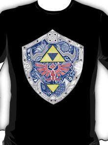 Zelda - Link Shield doodle T-Shirt