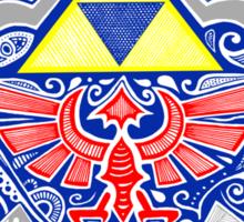 Zedla - Link Shield doodle Sticker