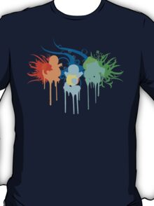 Pokemon First Gen Starters T-Shirt