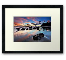 Newdicks Dawn Reflections Framed Print