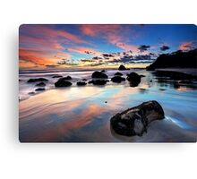 Newdicks Dawn Reflections Canvas Print