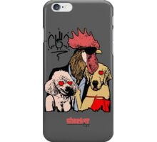 Dogs love Rooster iPhone Case/Skin