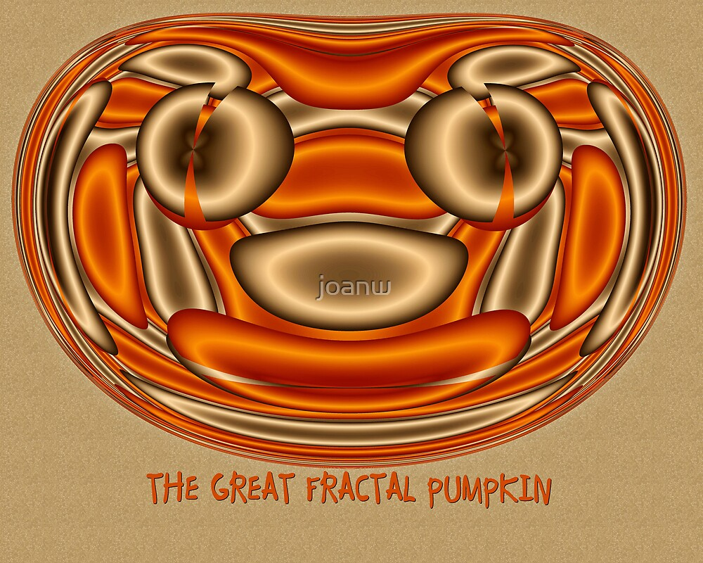 The Great Fractal Pumpkin by joanw