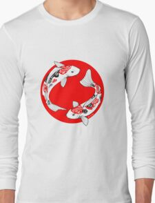 Japanese koi Long Sleeve T-Shirt