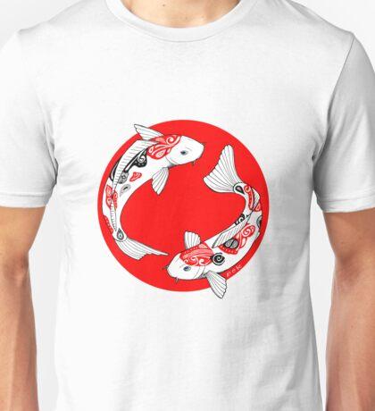 Japanese koi Unisex T-Shirt