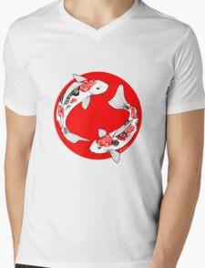 Japanese koi Mens V-Neck T-Shirt
