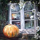 Pumpkin and Roses by Candy Matthews