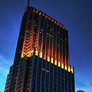 Chicago Architecture - NBC Building by Lindsey McKnight