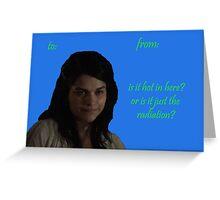 Maya Valentine Greeting Card