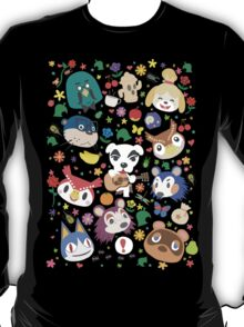 Animal Crossing New Leaf Town Folk T-Shirt