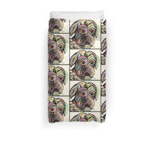Colorful Boxer Duvet Cover