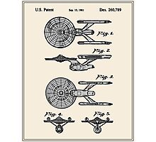Enterprise Toy Figure Patent - Colour Photographic Print