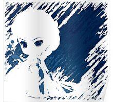 Elsa's ice Shadow Poster