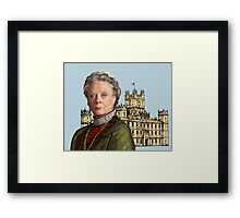 Lady Violet Crawley, Dowager Countess - Downton Abbey Framed Print