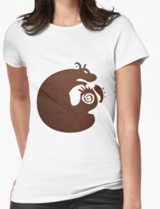 Sloth, The Grizzly Womens Fitted T-Shirt