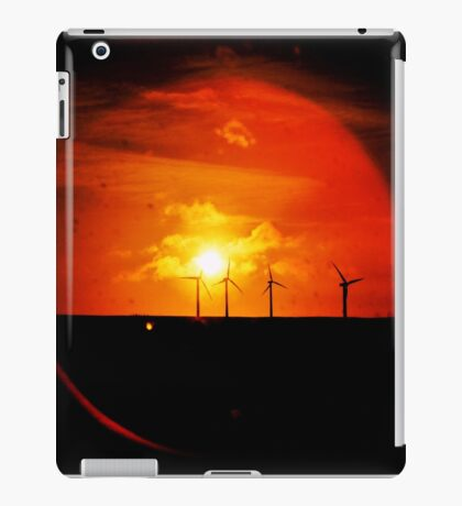 Flare for Wind-Power iPad Case/Skin