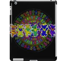 Dancing Bears Grateful Dead Psychedelic Design iPad Case/Skin