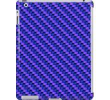 Blue-Pink Carbon Fibre iPhone / Samsung Galaxy Case iPad Case/Skin