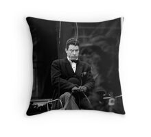 Hearse Driver Throw Pillow