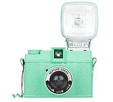 Neptune Green Vintage Camera Photographic Print