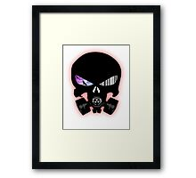 The Schematic Framed Print