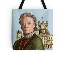 Lady Violet Crawley, Dowager Countess - Downton Abbey Tote Bag