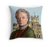Lady Violet Crawley, Dowager Countess - Downton Abbey Throw Pillow