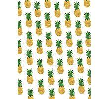 Pineapple Pattern Photographic Print
