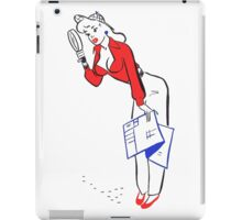 Detective Pinup  iPad Case/Skin