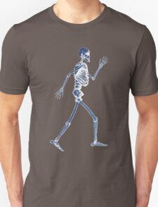 Handdrawn Skeleton X-Ray T-Shirt