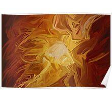 """""""Fire"""" - Abstract Digital Art Poster"""