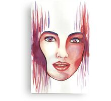 Red hot woman Canvas Print