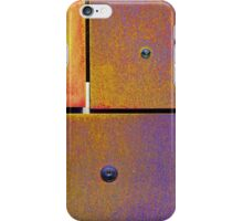 13 14 15 Colorful Rust Gold Purple iPhone Case/Skin