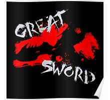 MH4U Great Sword (CLASS SERIES) Poster