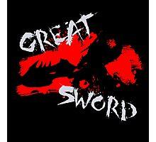 MH4U Great Sword (CLASS SERIES) Photographic Print