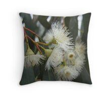 Gumnut Flowers Throw Pillow