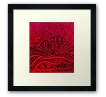 Flamenco dancer Framed Print