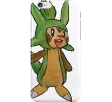 Cheeky Chipmunk Chespin iPhone Case/Skin