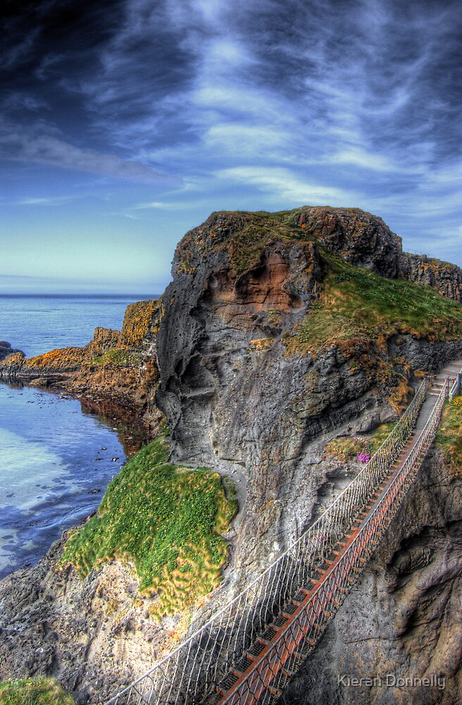 Carrick-a-Rede Rope Bridge, Antrim by Kieran Donnelly