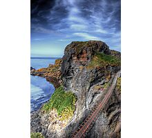 Carrick-a-Rede Rope Bridge, Antrim Photographic Print