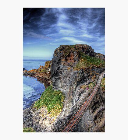 Carrick-a-Rede Rope Bridge, Antrim Photographic Print