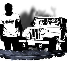 Stiles and His Jeep by jordams124