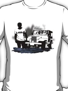Stiles and His Jeep T-Shirt